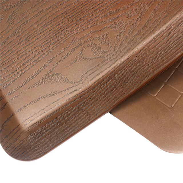 20X30X0.75inch ExtraThick Anti Fatigue Kitchen Mat Wood Grain Stain Resistant Standing Desk Mat