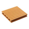 140x25mm Waterproof WPC Hollow Composite Decking Flooring