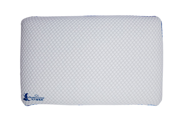 Bread Shape Memory Foam Pillow with Washable Removable Cover Good for Back